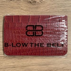 Brand New B-Low The Belt Card Holder/Wallet